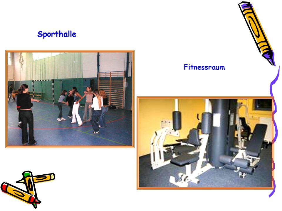 Sporthalle Fitnessraum
