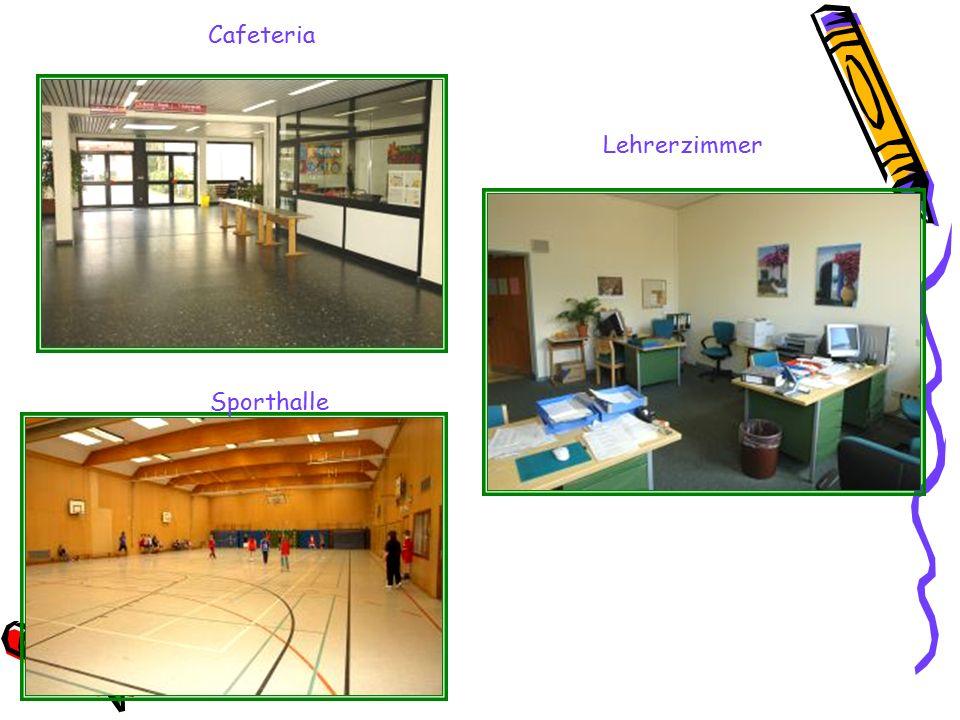 Cafeteria Lehrerzimmer Sporthalle