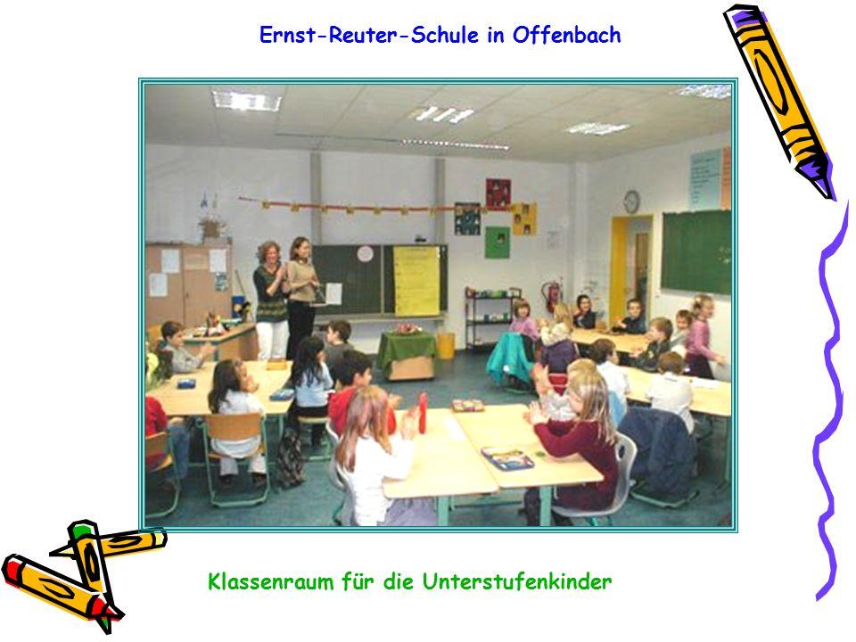 Ernst-Reuter-Schule in Offenbach Klassenraum für die Unterstufenkinder