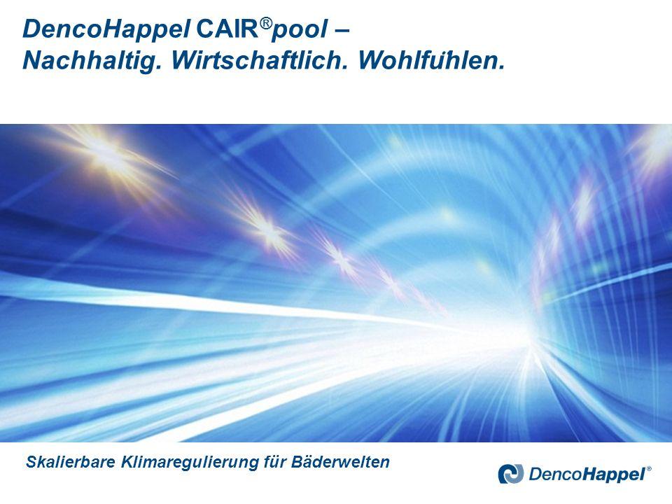 DencoHappel GmbH 3 Die DencoHappel GmbH bietet zentrale und dezentrale Lösungen zur Luftkonditionierung.