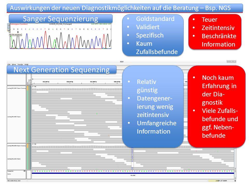 Die Zukunft der humangenetischen Beratung – Herausforderungen am Beispiel der Array CGH Die Zukunft der humangenetischen Beratung – Herausforderungen am Beispiel der Array CGH