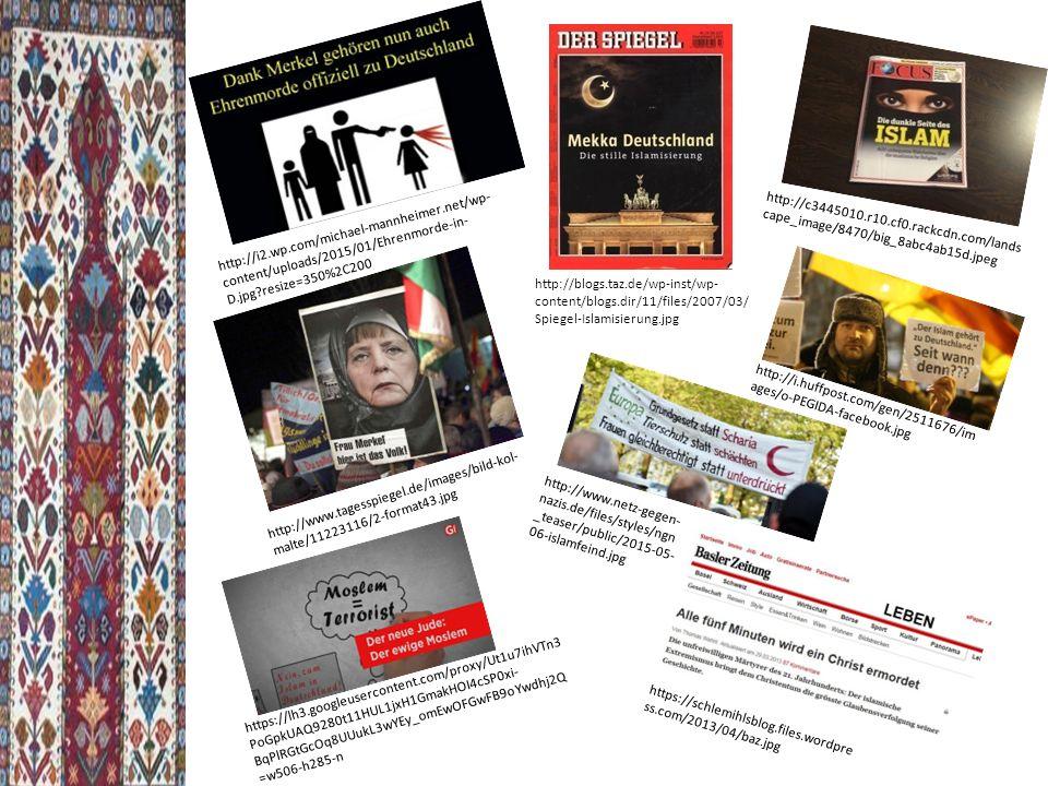 http://i2.wp.com/michael-mannheimer.net/wp- content/uploads/2015/01/Ehrenmorde-in- D.jpg?resize=350%2C200 http://c3445010.r10.cf0.rackcdn.com/lands cape_image/8470/big_8abc4ab15d.jpeg https://schlemihlsblog.files.wordpre ss.com/2013/04/baz.jpg http://www.tagesspiegel.de/images/bild-kol- malte/11223116/2-format43.jpg http://i.huffpost.com/gen/2511676/im ages/o-PEGIDA-facebook.jpg http://blogs.taz.de/wp-inst/wp- content/blogs.dir/11/files/2007/03/ Spiegel-Islamisierung.jpg https://lh3.googleusercontent.com/proxy/Ut1u7ihVTn3 PoGpkUAQ9280t11HUL1jxH1GmakHOI4cSP0xi- BqPlRGtGcOq8UUukL3wYEy_omEwOFGwFB9oYwdhj2Q =w506-h285-n http://www.netz-gegen- nazis.de/files/styles/ngn _teaser/public/2015-05- 06-islamfeind.jpg