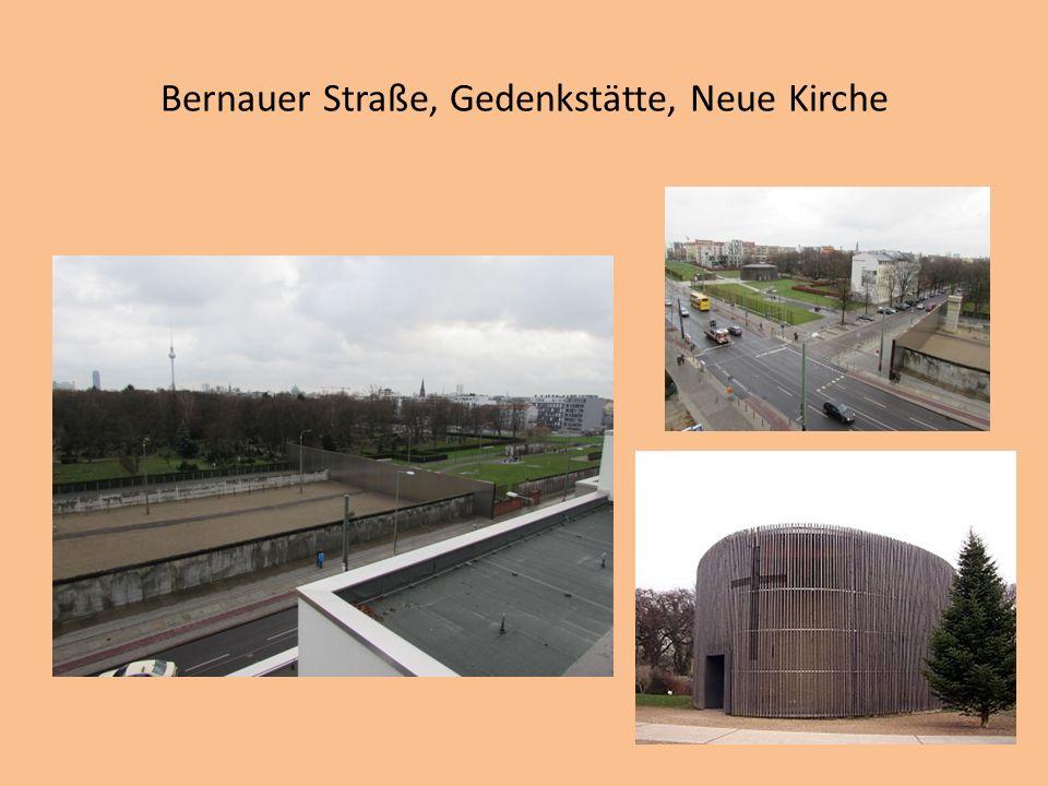 Bernauer Straße, Gedenkstätte, Neue Kirche