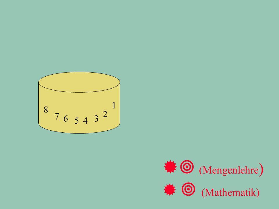 1 2 3 4 5 6 7 8 ®  (Mengenlehre )   (Mathematik)