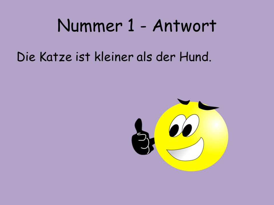 Nummer 2 – 'The car is faster than the bike'