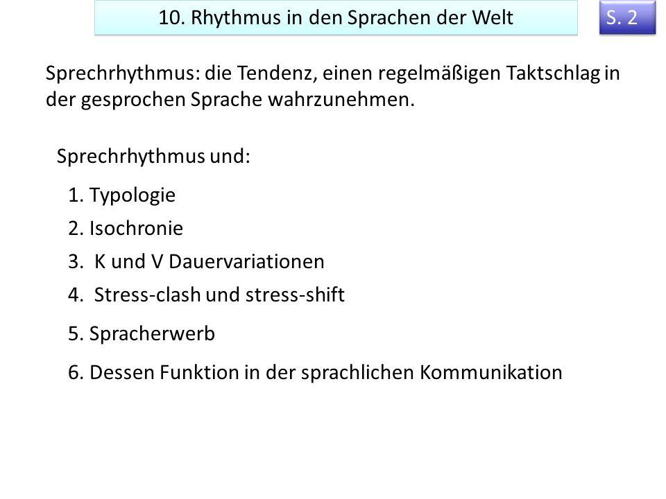 27 Phonologische Faktoren in der Synchronisierung: Semantik Nicht überraschend, erwartet kongruent mit dem Kontext Niebuhr, O.