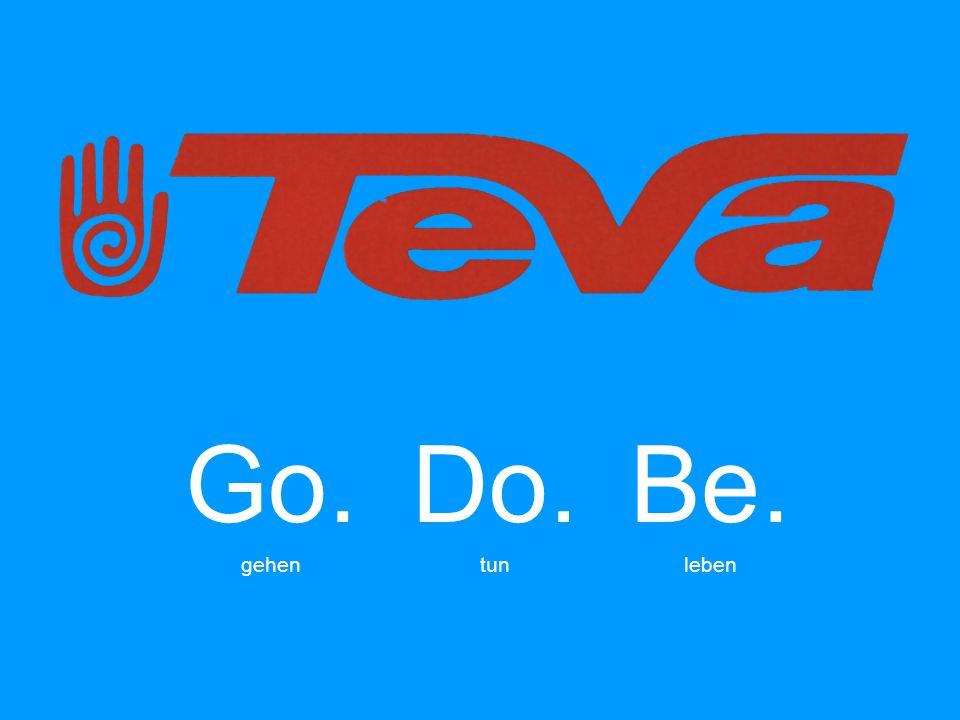 Go. gehen Do. tun Be. leben