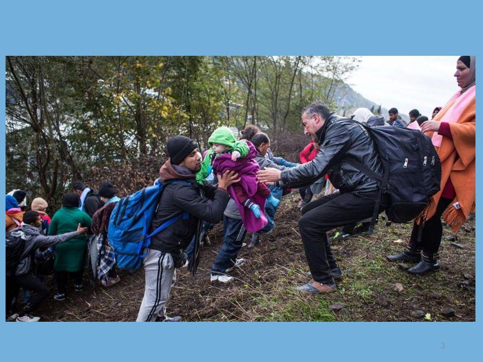 Die Zugangszahlen der Flüchtlinge in Deutschland steigen dramatisch an.