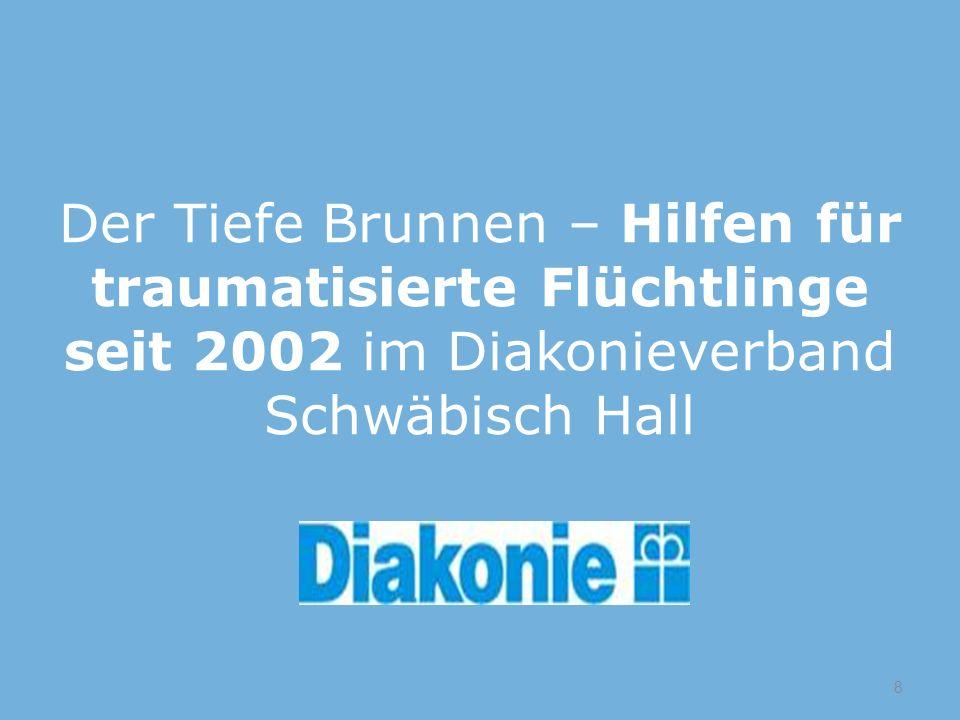 Der Tiefe Brunnen – Hilfen für traumatisierte Flüchtlinge seit 2002 im Diakonieverband Schwäbisch Hall 8