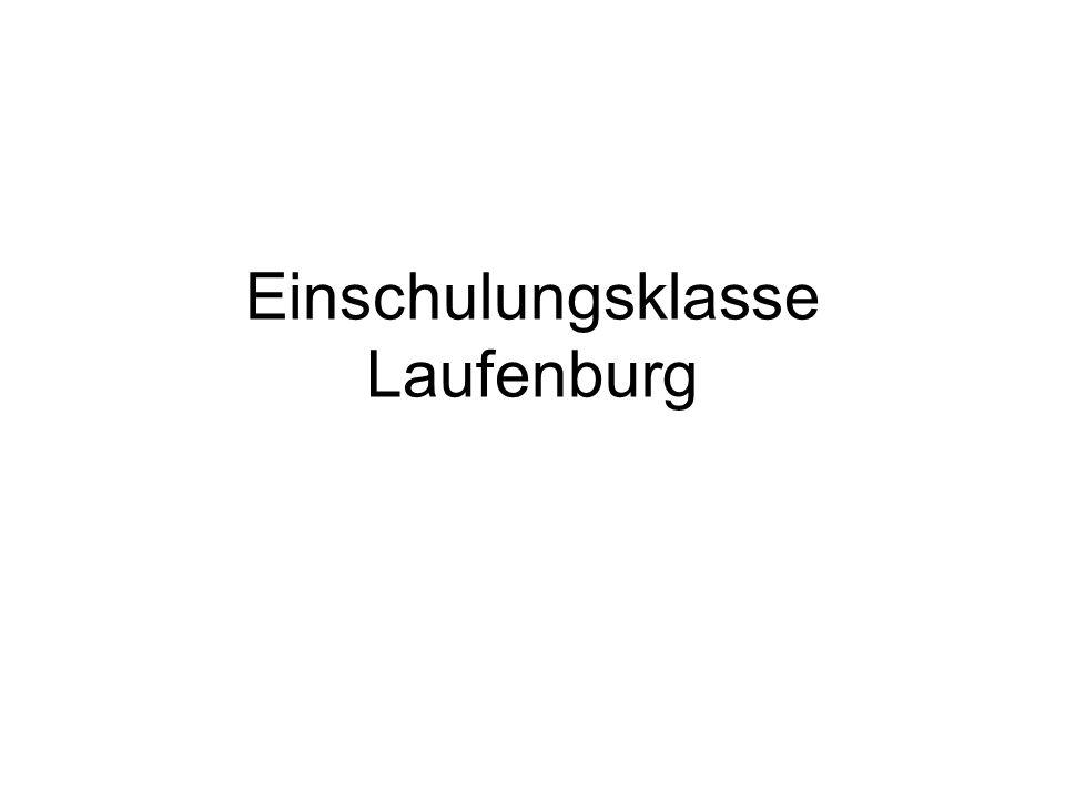 Einschulungsklasse Laufenburg