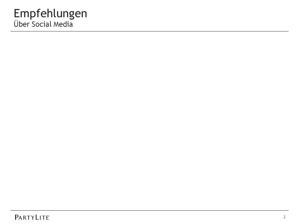 Empfehlungen Ergebnisse Gepackte Geschenke auf der Vorführung 8 Vorführungen - 2 Empfehlungen Terminkärtchen 15 Kärtchen an Kunden verteilt – 6 Empfehlungen Gastgeberinnen-Briefe 12 Briefe verschickt - 10 neue Gastgeberinnen 20 neue Gäste 4 Infogespräche 1 Start Empfehlungskatalog In 3 Infogesprächen benutzt – 1 Empfehlung 14