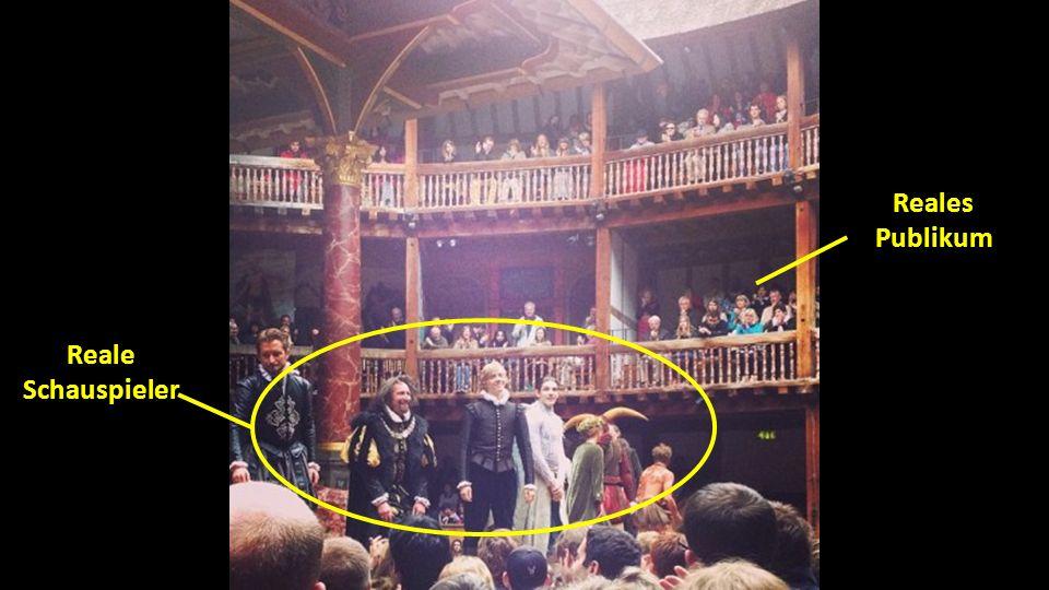 Reale Schauspieler Reales Publikum