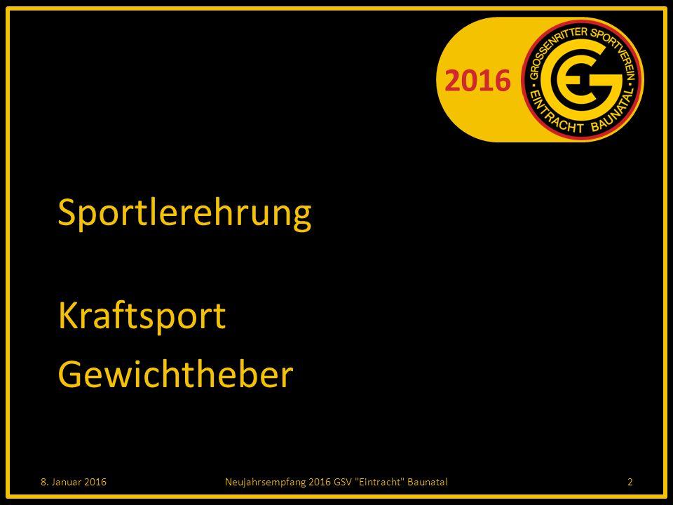 2016 GCG - Die Mannschaften Prinzengarde (Junioren) 5.