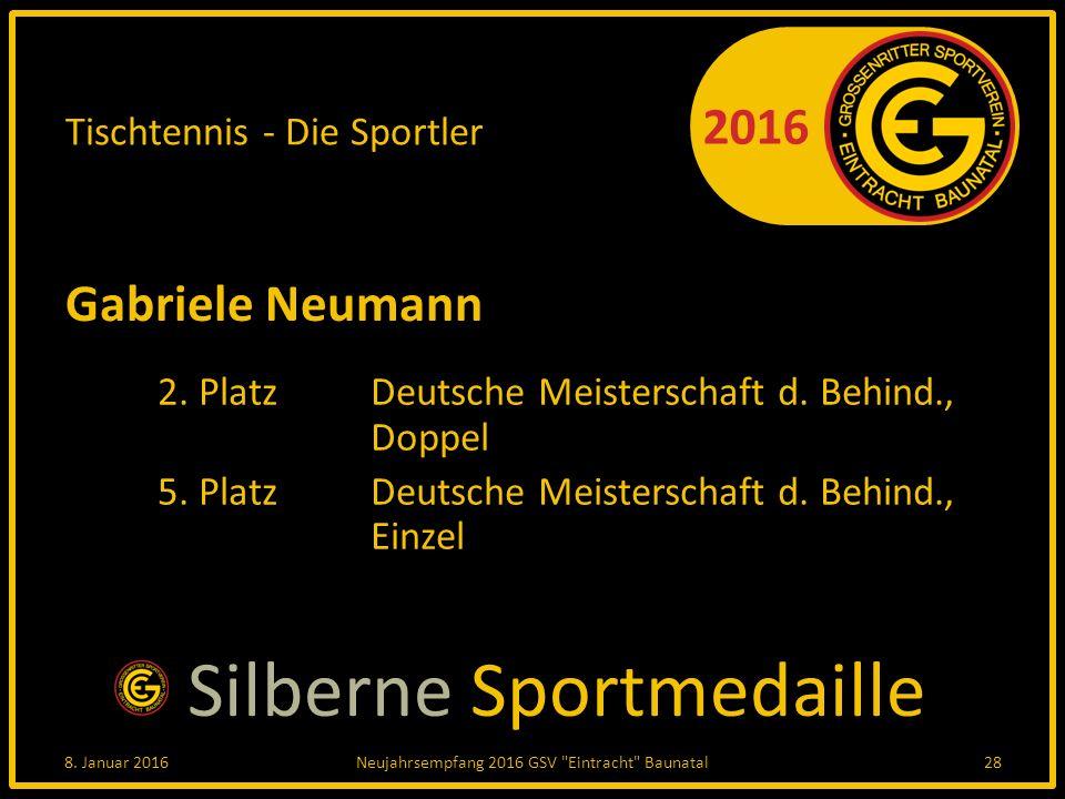 2016 Tischtennis - Die Sportler Gabriele Neumann 2.