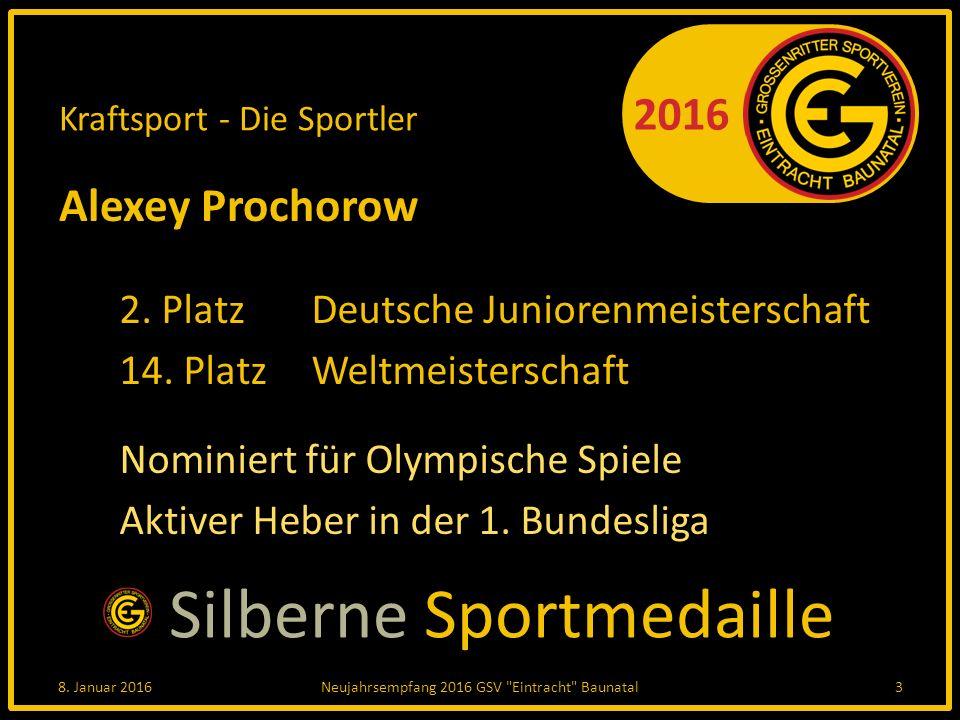 2016 Leichtathletik - Die Sportler Laura Hottenrott 3.