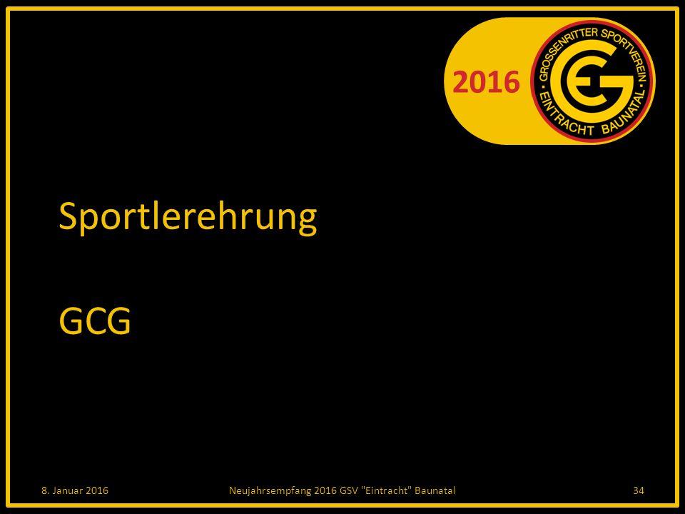 2016 Sportlerehrung GCG 8. Januar 2016Neujahrsempfang 2016 GSV Eintracht Baunatal34