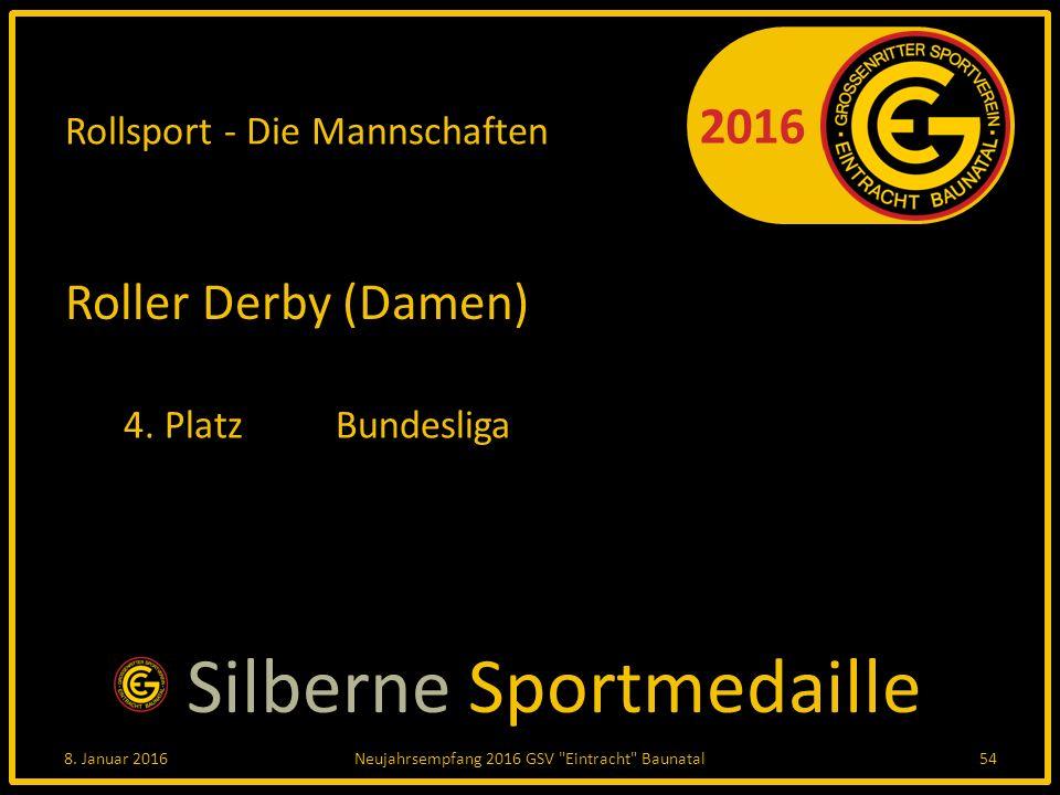 2016 Rollsport - Die Mannschaften Roller Derby (Damen) 4.