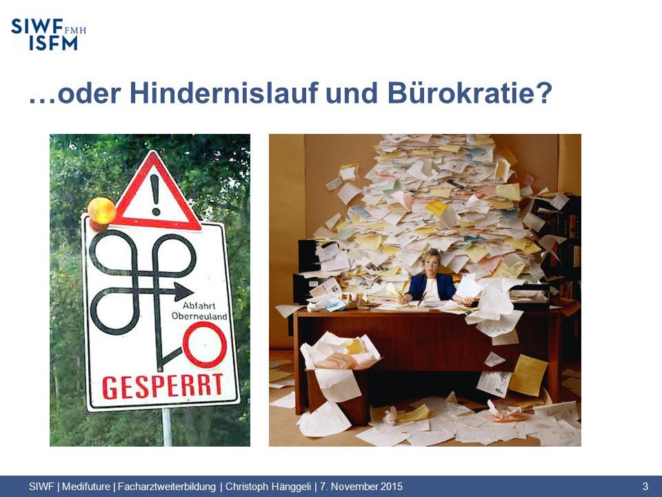 …oder Hindernislauf und Bürokratie.