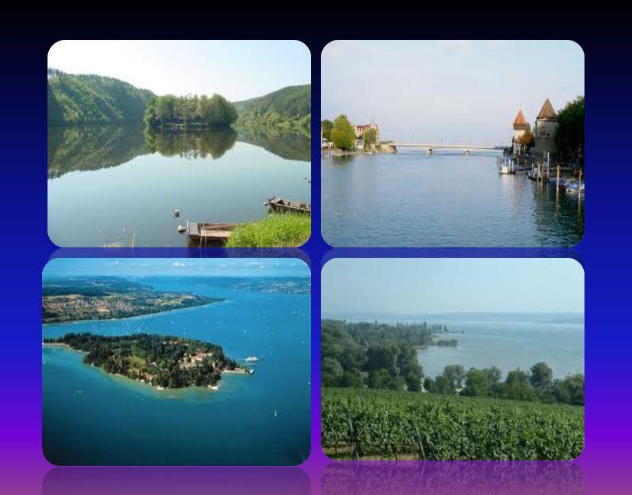 Den schönsten Orten Die wichtigsten Städte, die am Bodensee liegen, sind die folgenden: Konstanz sie ist die größte Stadt am Bodensee, die von dem Fluss Rhein in zwei Teile gegliedert ist.