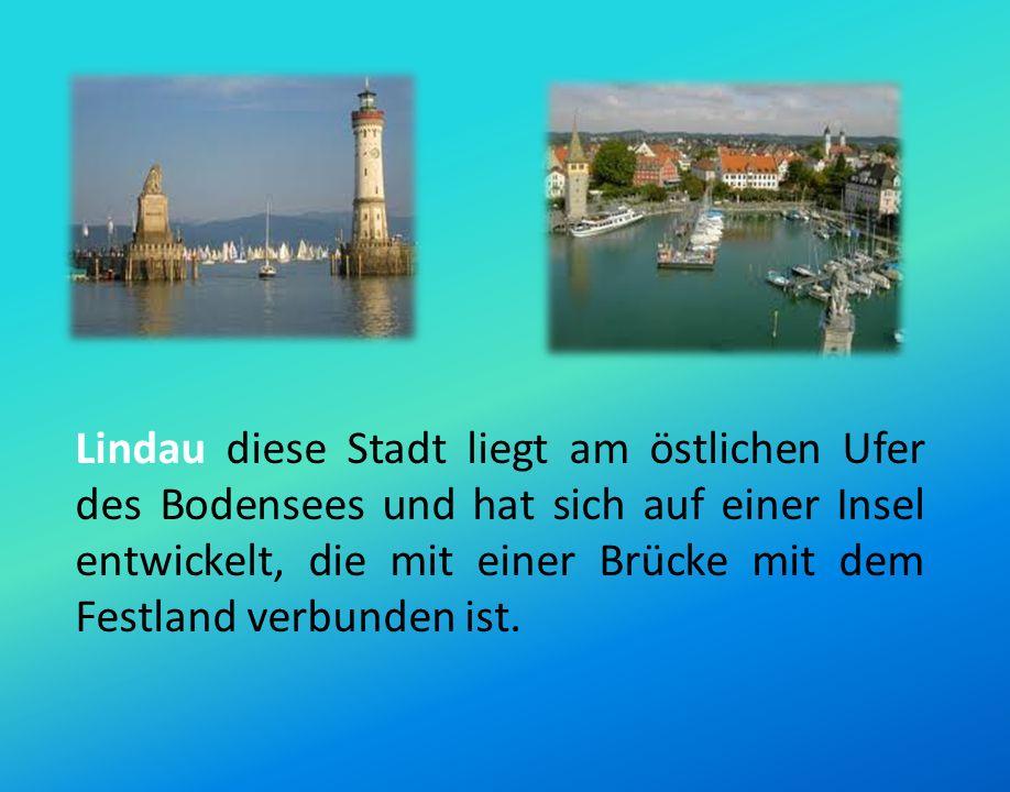 Friedrichshafen sie ist die zweitgrößte Stadt am Bodensee und sie ist für das Zeppelin- Museum wohlbekannt, das die weltgrößte Sammlung zu Geschichte und Technik der Zeppelin-Luftschifffahrt beherbergt.