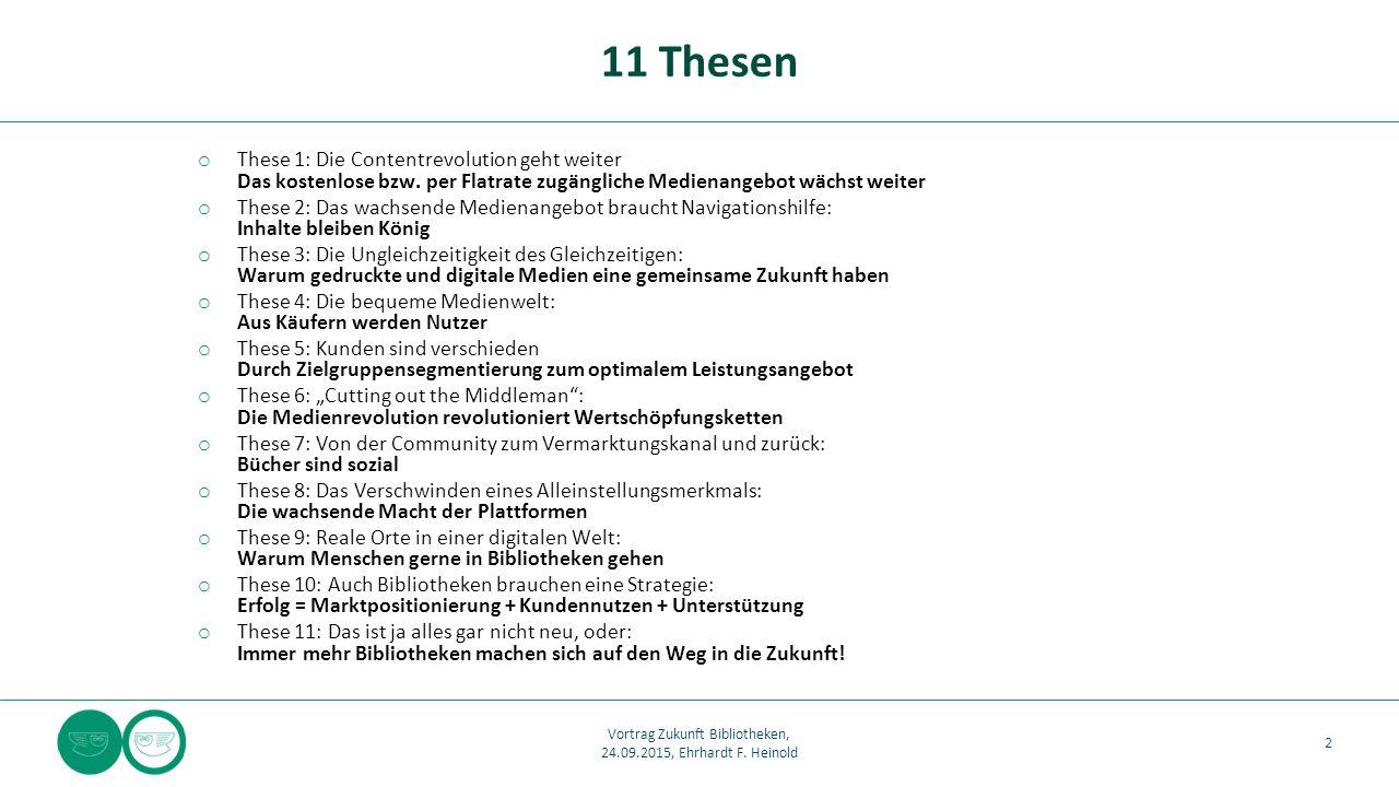 o These 1: Die Contentrevolution geht weiter Das kostenlose bzw.