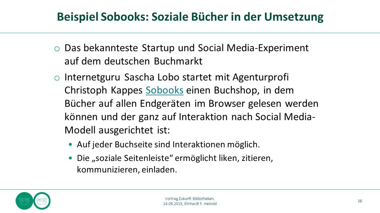 o Das bekannteste Startup und Social Media-Experiment auf dem deutschen Buchmarkt o Internetguru Sascha Lobo startet mit Agenturprofi Christoph Kappes