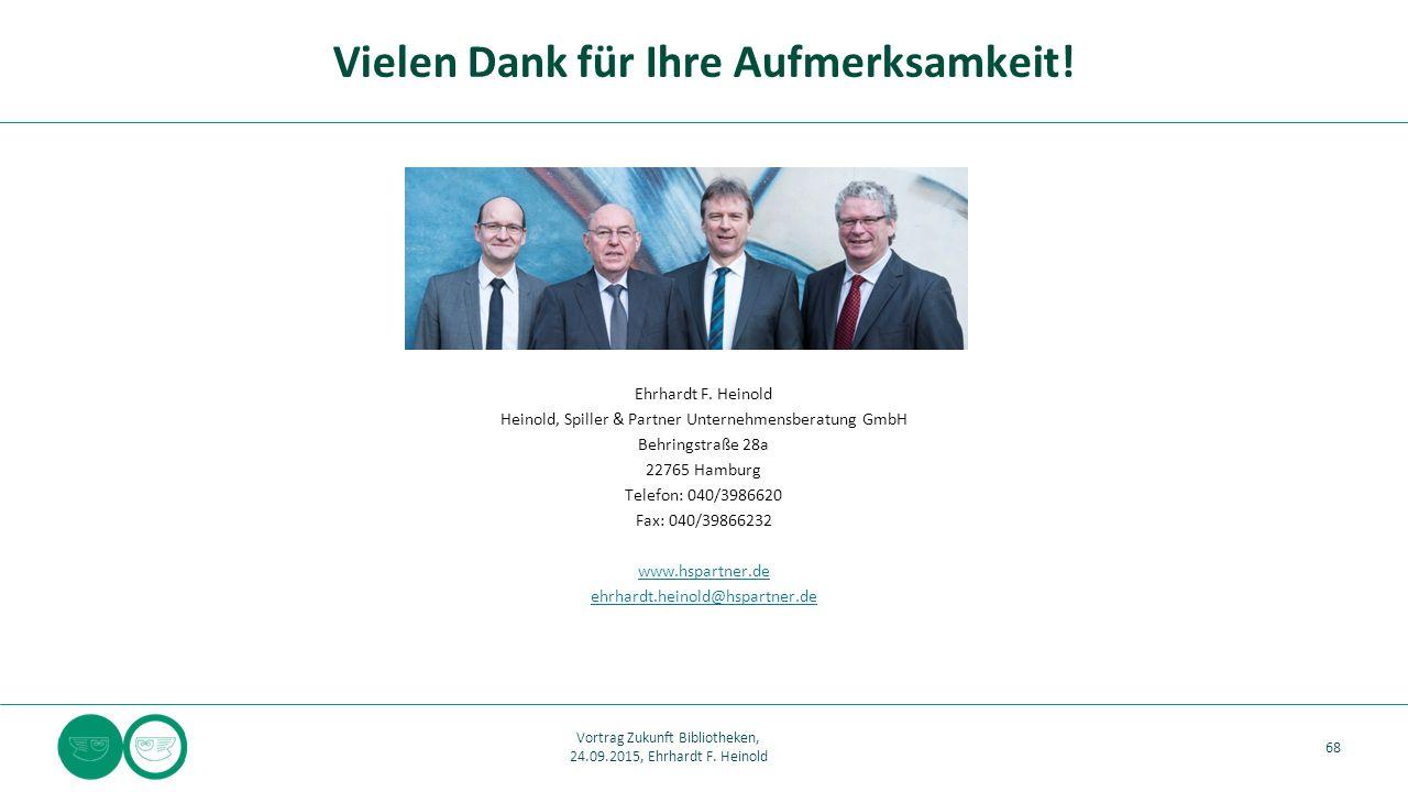 Ehrhardt F. Heinold Heinold, Spiller & Partner Unternehmensberatung GmbH Behringstraße 28a 22765 Hamburg Telefon: 040/3986620 Fax: 040/39866232 www.hs