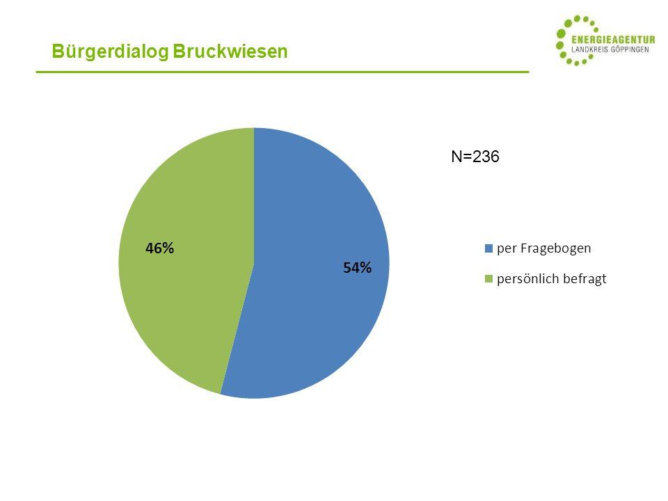 Bürgerdialog Bruckwiesen N=236