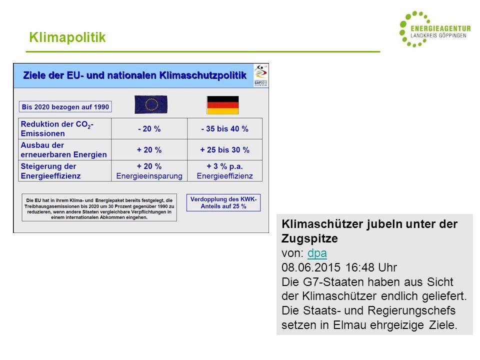Alternativen: Reduzierung des Energieverbrauchs Umstieg des Energieträgers Ausbau Gasnetz.