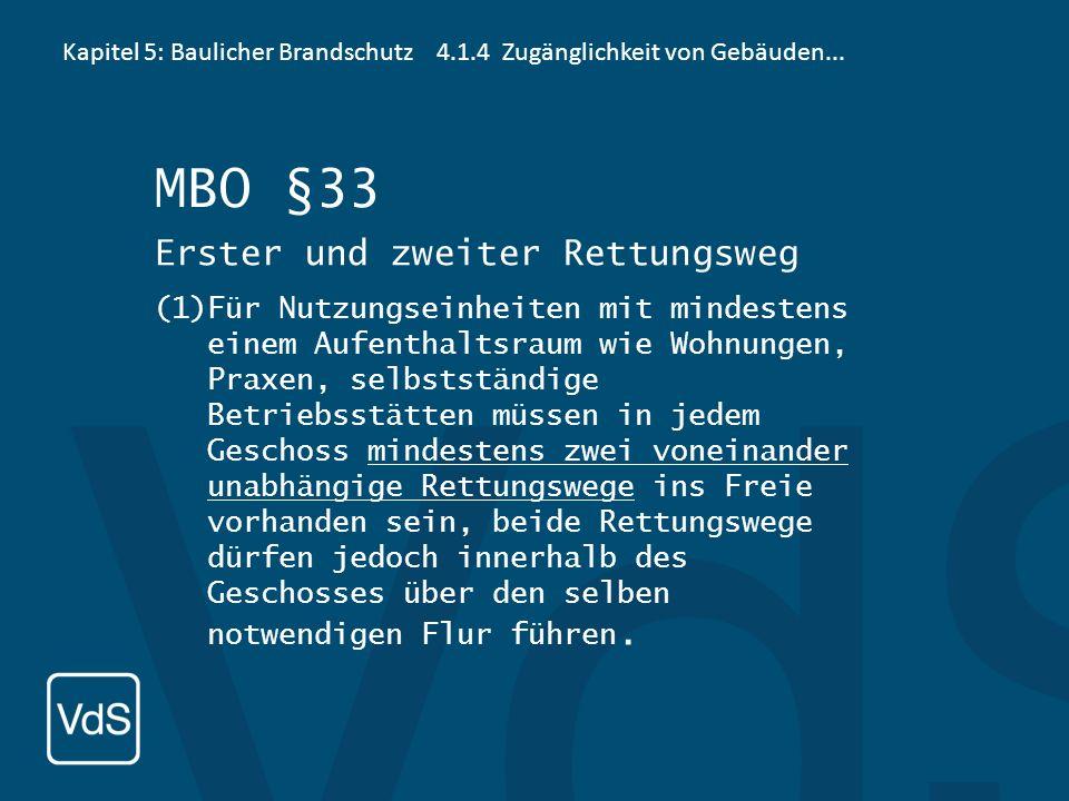 Kapitel 5: Baulicher Brandschutz6 Ergänzende Bemerkungen MBO §2 Begriffe Gebäudeklassen (3)Gebäude werden in folgende Gebäudeklassen eingeteilt: 5. Ge