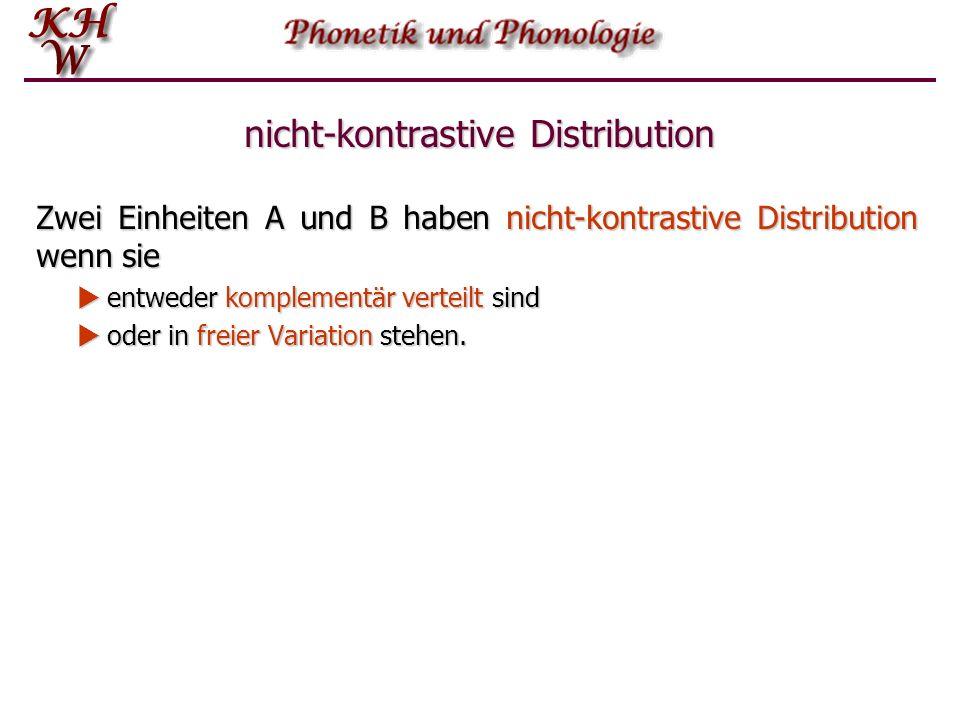 Freie Variation Im englischen Wort economics z.B.
