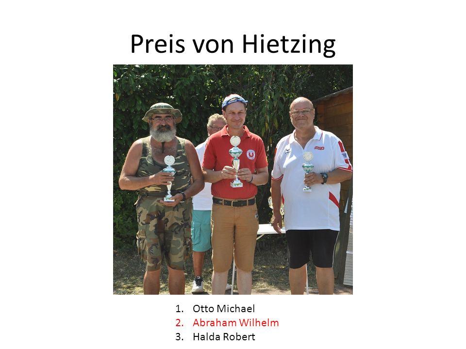 Preis von Hietzing 1.Otto Michael 2.Abraham Wilhelm 3.Halda Robert