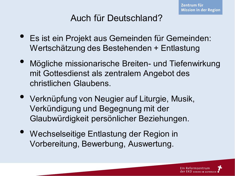 Auch für Deutschland.