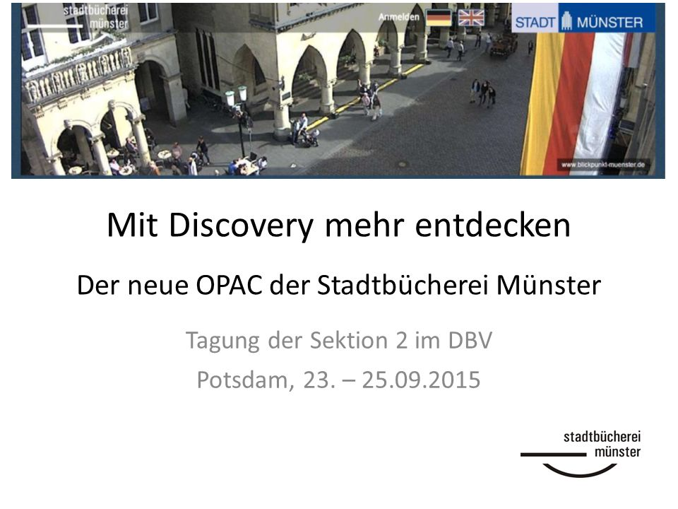 Was ist ein Discovery System.