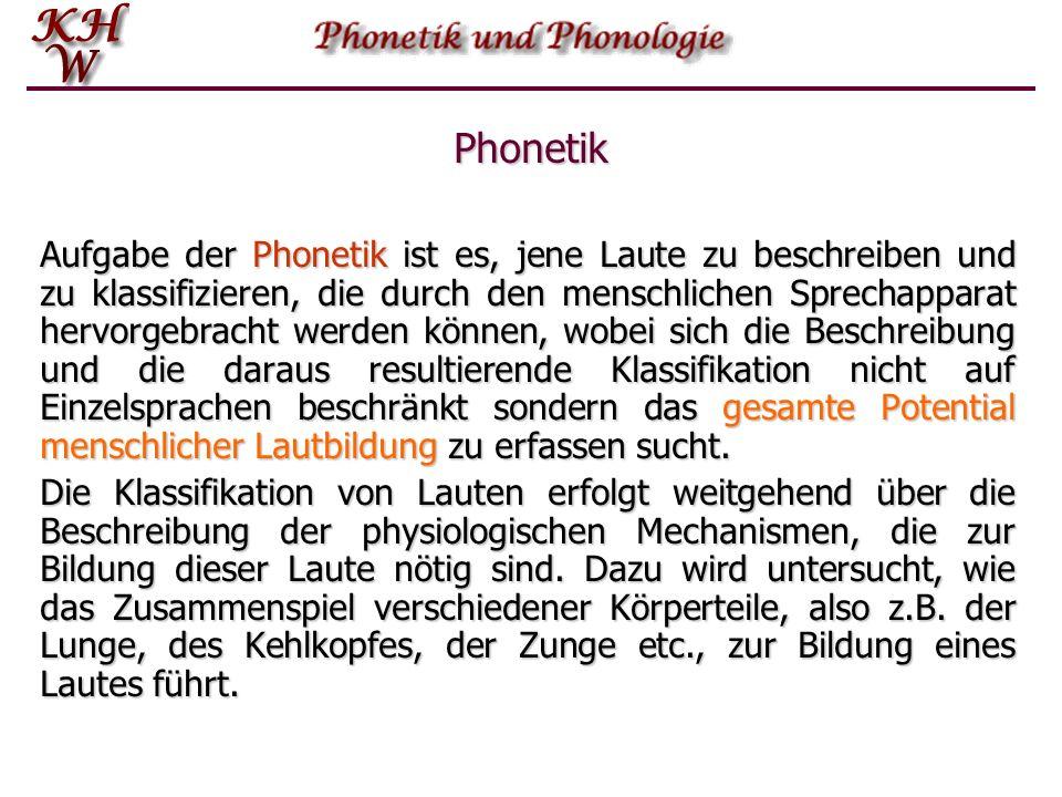 Phonologie Die Phonologie hingegen befasst sich mit der Verwendung von Lauten in der menschlichen Sprache und damit auch den in Einzelsprachen.