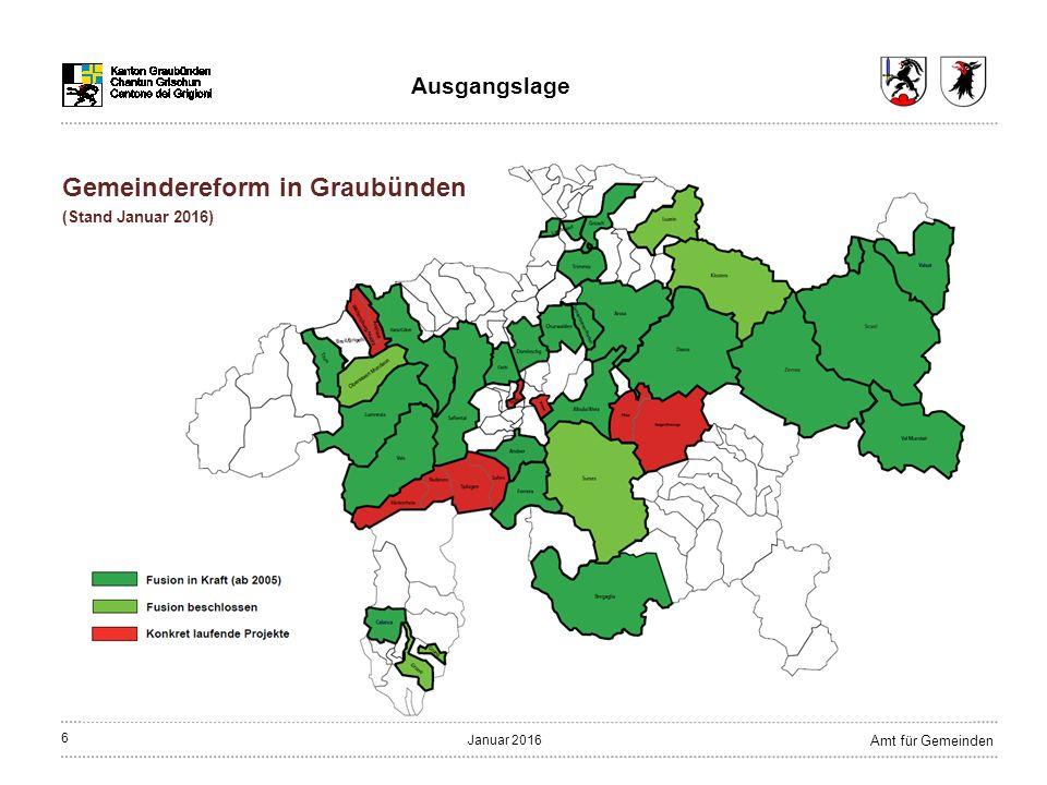 47 Amt für Gemeinden Januar 2016 Bergün/Bravuogn:Alters- und Pflegeheim Thusis (Stiftung) Filisur:Envia Alvaneu (Gemeindezweckverband) Gesundheitswesen Konzept
