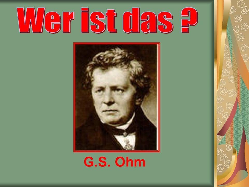 G.S. Ohm
