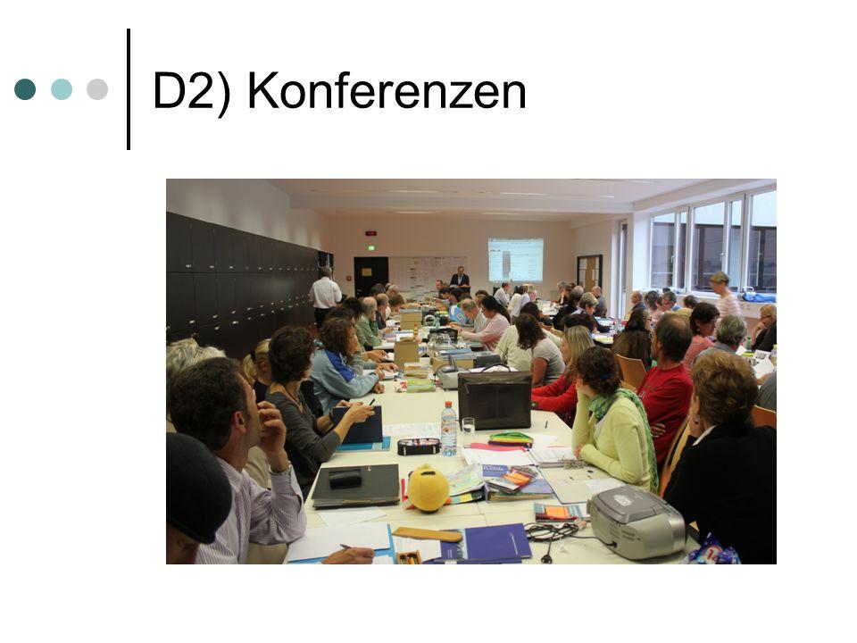 D2) Konferenzen