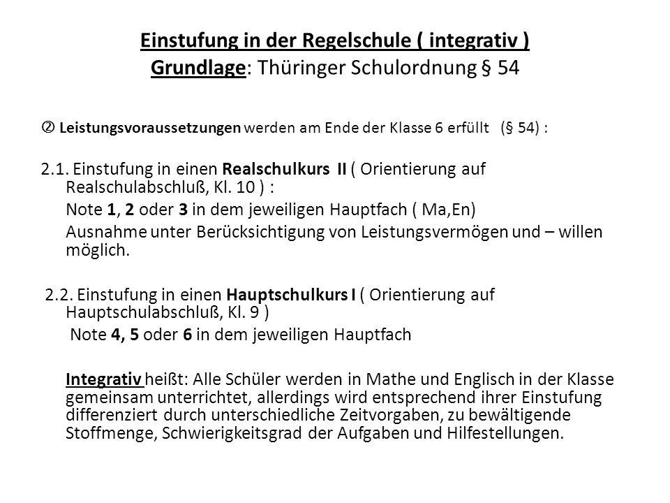 """Hinweise zur Einstufung: Ab Klasse 9 werden auch Deutsch und das Fach Physik """"gekurst ."""