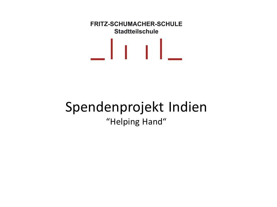 Spendenprojekt Indien Helping Hand