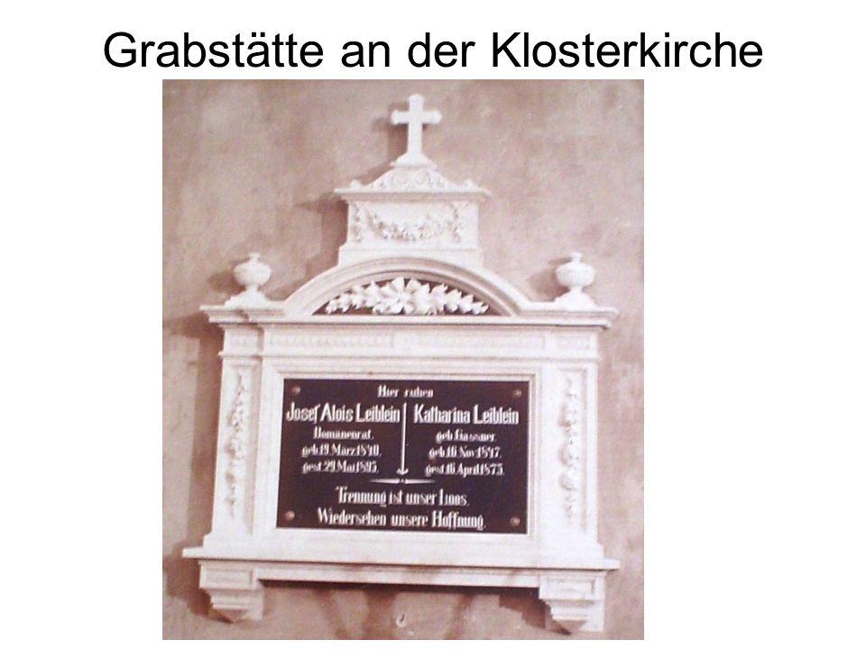 Grabstätte an der Klosterkirche