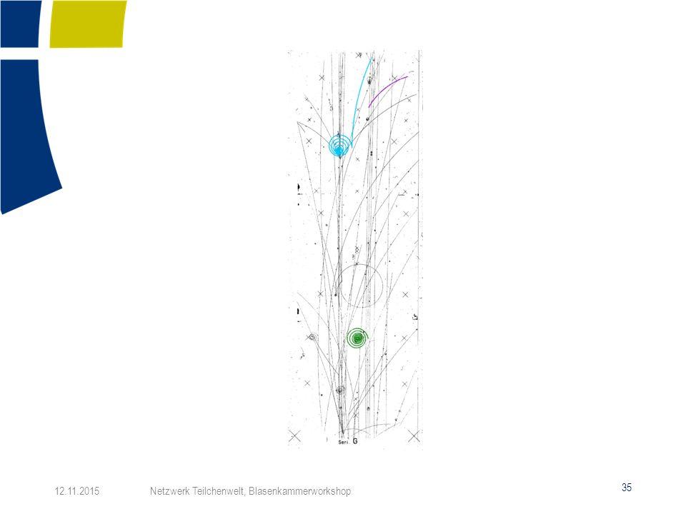 35 12.11.2015 Netzwerk Teilchenwelt, Blasenkammerworkshop