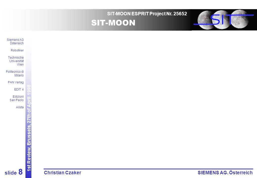 SIT-MOON ESPRIT Project Nr.