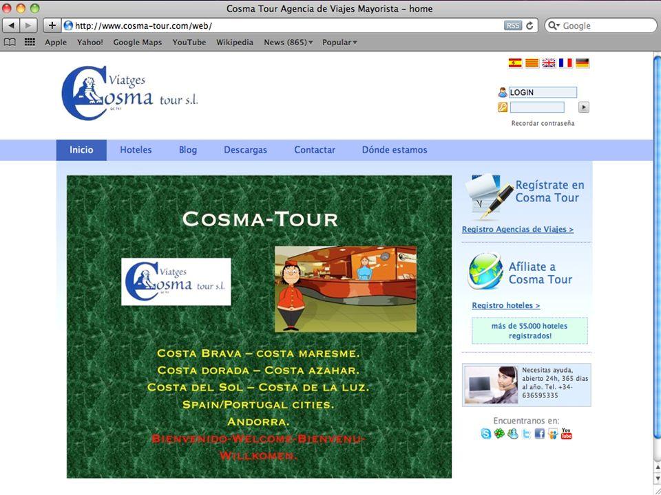 Unete a cosma-tour.com y alcanza todos tus objetivos.