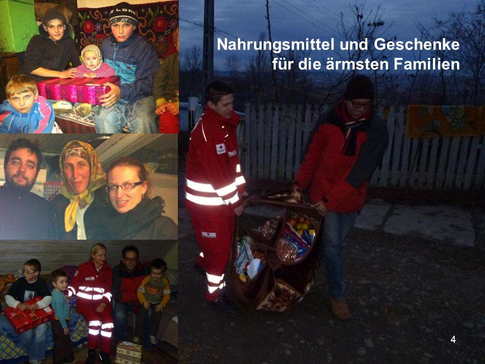 Nahrungsmittel und Geschenke für die ärmsten Familien 4