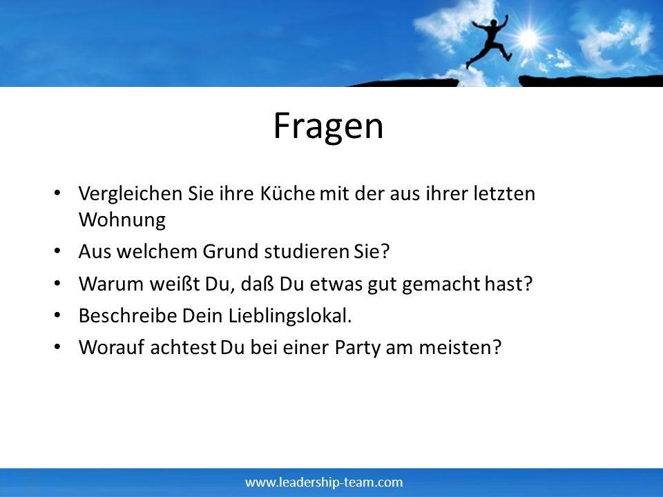 www.leadership-team.com Beschreibe Dein Lieblingslokal