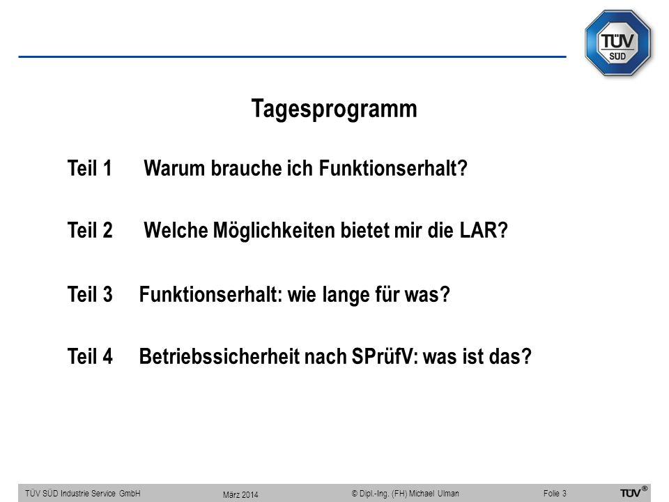 Leitungsanlagen-Richtlinie LAR 11/2005 TÜV SÜD Industrie Service GmbHFolie 14 © Dipl.-Ing.