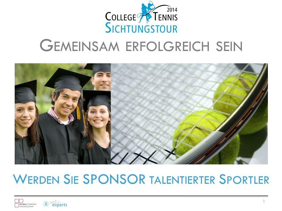 Die GSC Global Standard Consulting GmbH richtet im Auftrag von uniexperts erstmalig deutschlandweit Sichtungstage für junge Tennistalente zwischen 14-20 Jahren in 8 Städten aus.