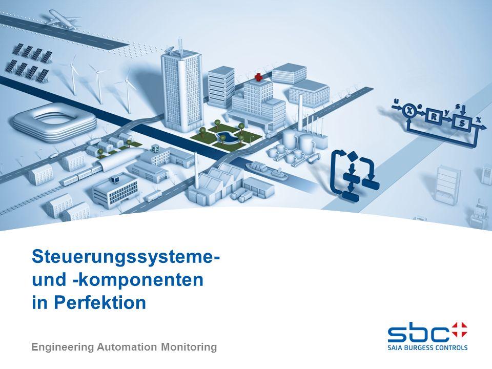 Engineering Automation Monitoring Steuerungssysteme- und -komponenten in Perfektion