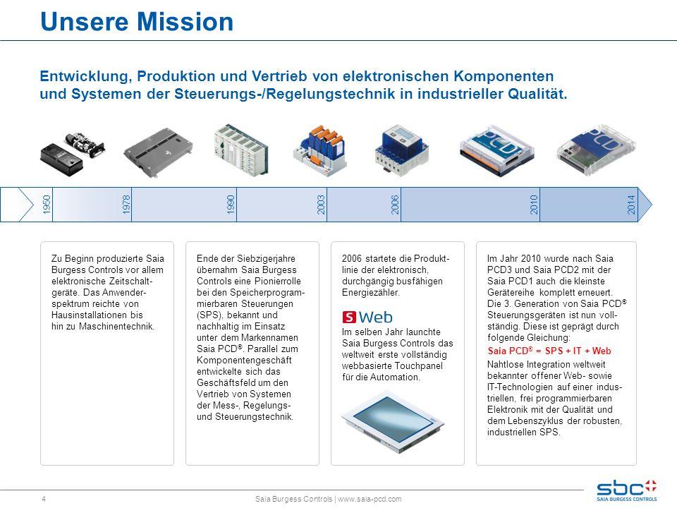 4 Unsere Mission Entwicklung, Produktion und Vertrieb von elektronischen Komponenten und Systemen der Steuerungs-/Regelungstechnik in industrieller Qu